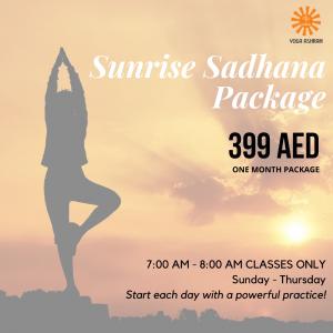 Sunrise Sadhana Package Yoga Ashram