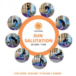 Sun Salutation Yoga Ashram