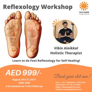Reflexology Workshop Yoga Ashram