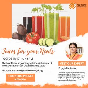 Juices for your Needs (1) Yoga Ashram