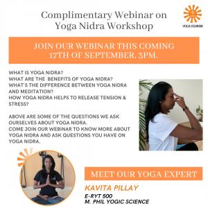 Webinar Yoga Nidra (1) Yoga Ashram