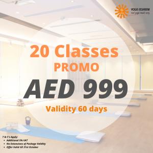 20 Classes PROMO (1) Yoga Ashram