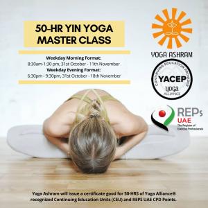 50-HR YIN YOGA MASTER CLASS (2) Yoga Ashram